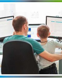 father-working-with-child