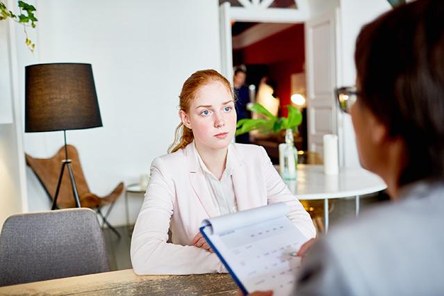 woman-interview